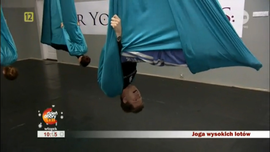 Aerial Joga TVN